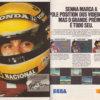 Propaganda antiga de videogame - Ayrton Senna 1992