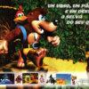 Propaganda antiga de videogame - Banjo-Kazooie 1998