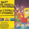 Propaganda antiga de videogame - Simpsons 1992