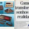 Propaganda antiga de videogame - Clube Amigos da TecToy 1991