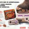 Propaganda antiga de videogame - Donkey Kong Country 1994