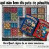 Propaganda antiga de videogame - Hero Quest 1994