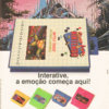 Propaganda antiga de videogame - Interative Chips do Brasil 1991