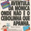 Propaganda antiga de videogame - Turma da Mônica 1991