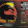 Propaganda antiga de videogame - Mortal Kombat 1994