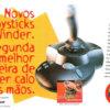 Propaganda antiga de videogame - Joystick SideWinder 1997