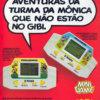 Propaganda antiga de videogame - Mini Games Turma da Mônica 1991