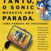 Propaganda antiga de videogame - Hit Parade do Sonic