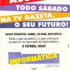 Propaganda antiga - Programa Informática 1995
