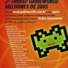 Propaganda GameWorld melhores de 2005