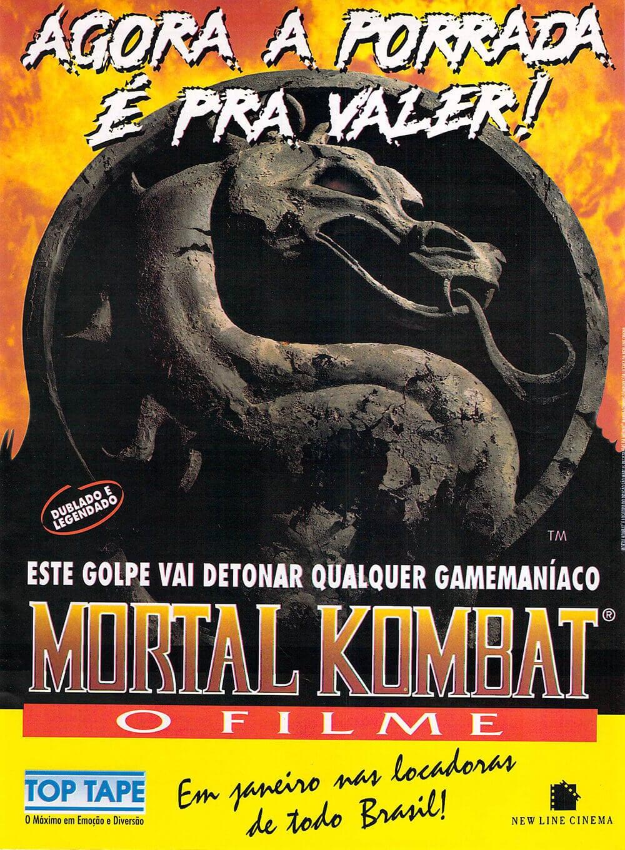 Propaganda Mortal Kombat Filme