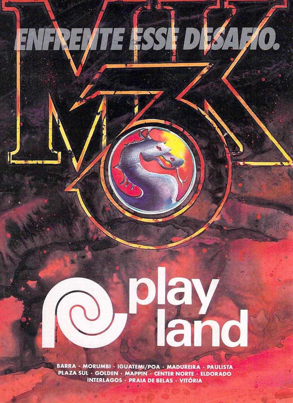 Propaganda Mortal Kombat Playland
