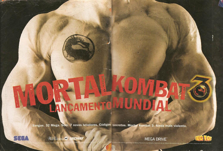 Propaganda Mortal Kombat 3