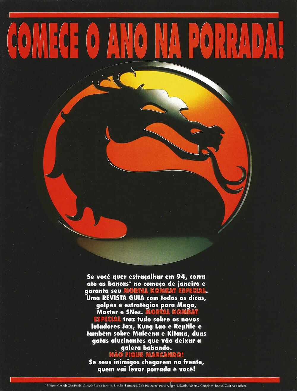 Mortal Kombat edição especial Supergame