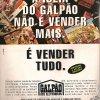 Propaganda antiga Galpão 1995