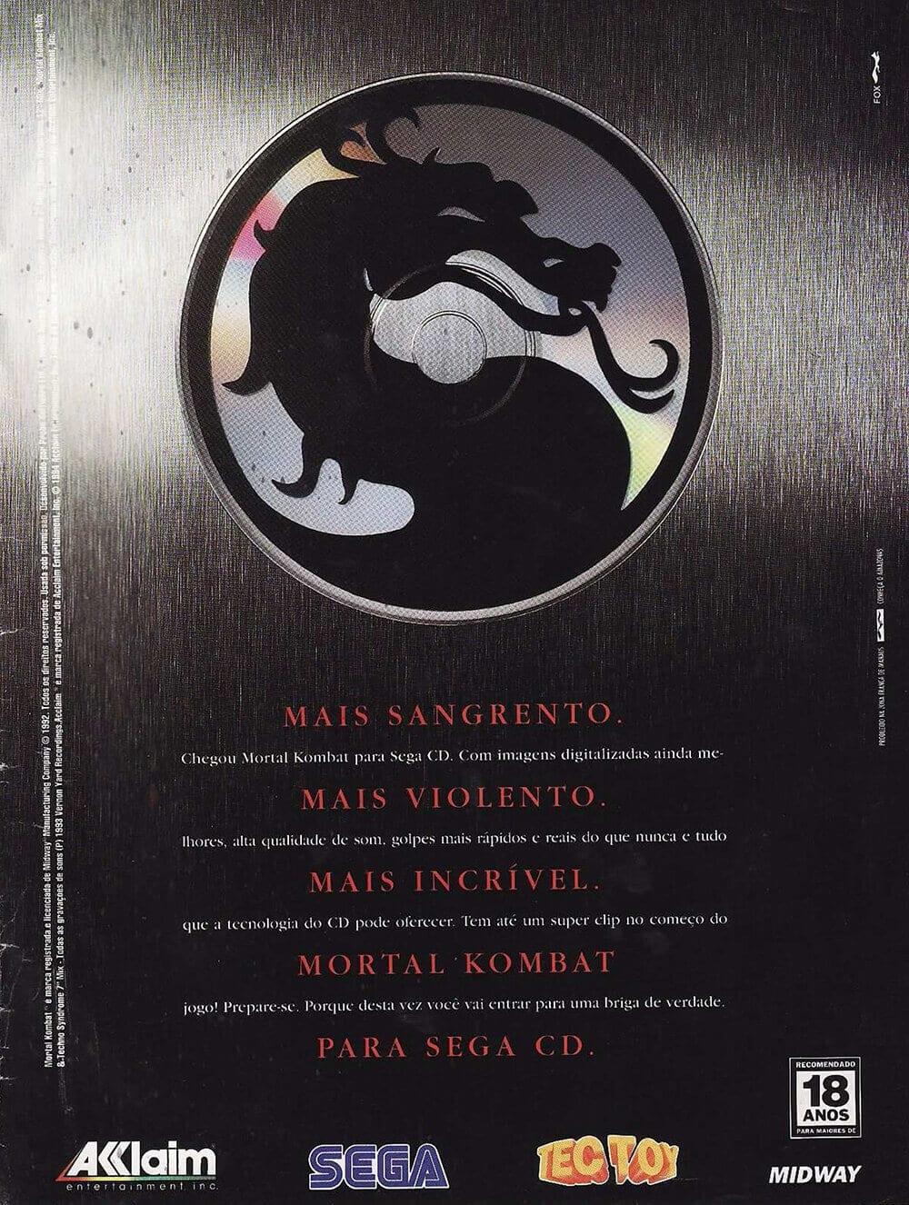 Mortal Kombat Sega CD