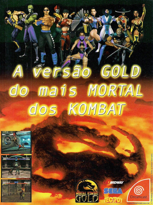 Propaganda Mortal Kombat Gold