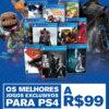 Propaganda Jogos PS4 2016