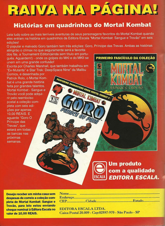 Quadrinhos Mortal Kombat