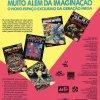 Propaganda antiga de videogame Vidgame 1991