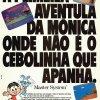 Propaganda Mônica no Castelo do Dragão 1992