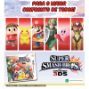 Propaganda Super Smash Bros 3DS - Saraiva 2014