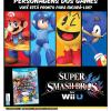 Propaganda Super Smash Bros Wii U - Saraiva