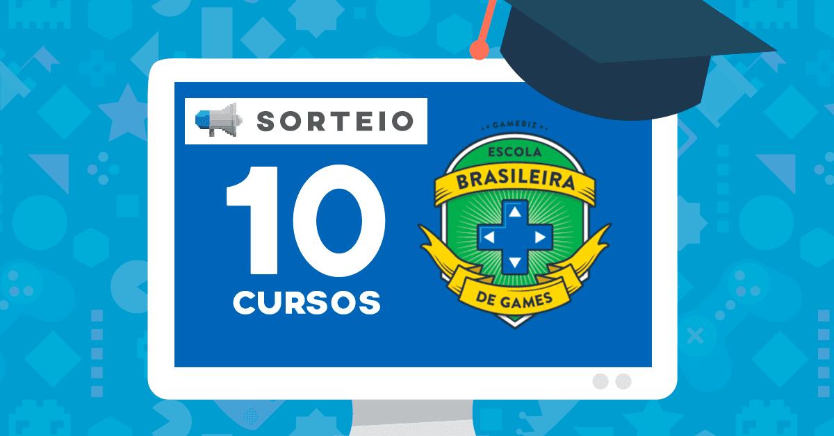 Sorteio GameAds em parceria com a Escola Brasileira de Games