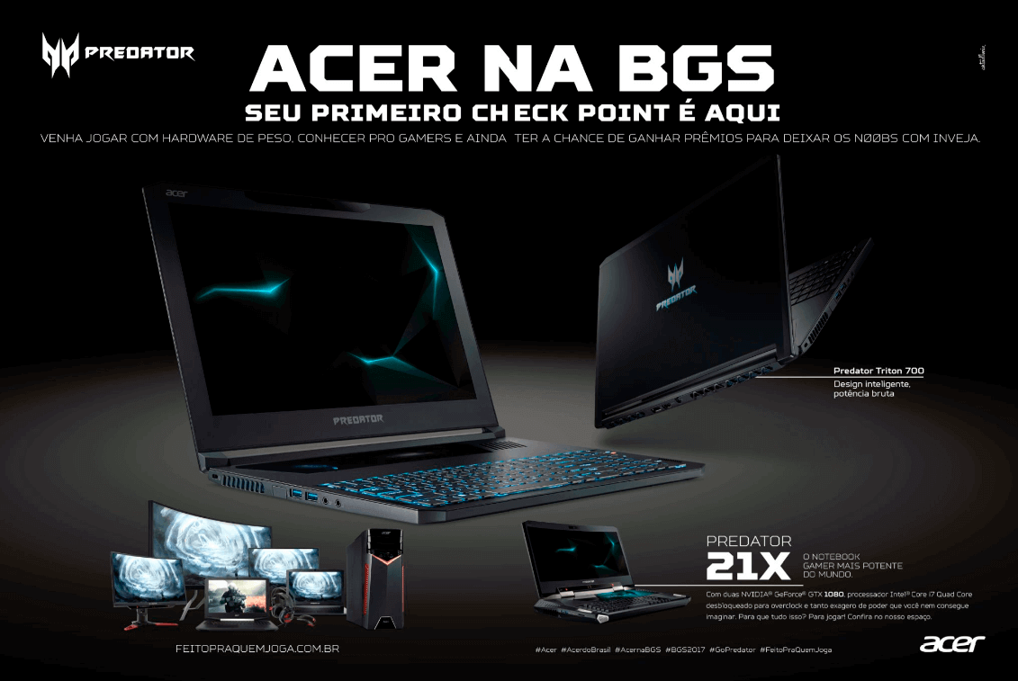Propaganda Acer - Guia BGS 10