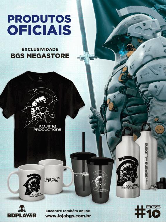 Propaganda BGS Megastore - Guia BGS 10