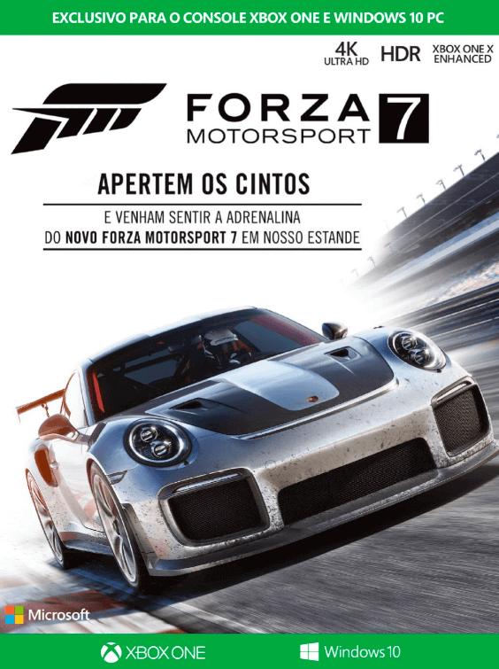 Propaganda Forza Motorsport 7 - Guia BGS 10
