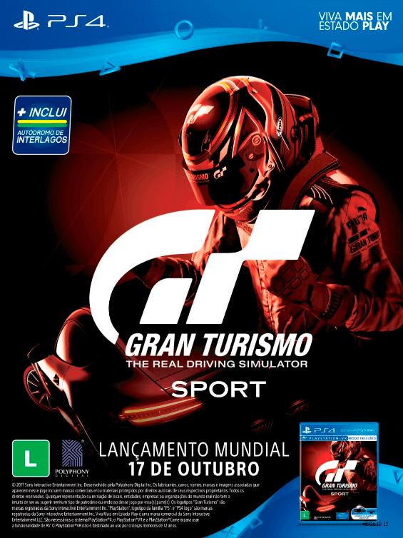 Propaganda Gran Turismo Sport