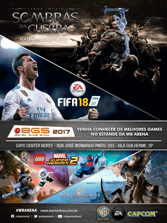 Propaganda WB Games - Guia BGS 10