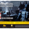 Propaganda Batman Arkham City (Saraiva) - Revista PlayStation 163