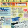 Cartão Magnético - Jornal Sega Mania 10