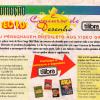 Concurso de Desenho Tilibra - Jornal Sega Mania 15