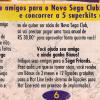 Sega Friends - Jornal Sega Mania 15