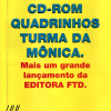 Teaser CD-Rom Turma da Mônica - Revista do CD-Rom 18
