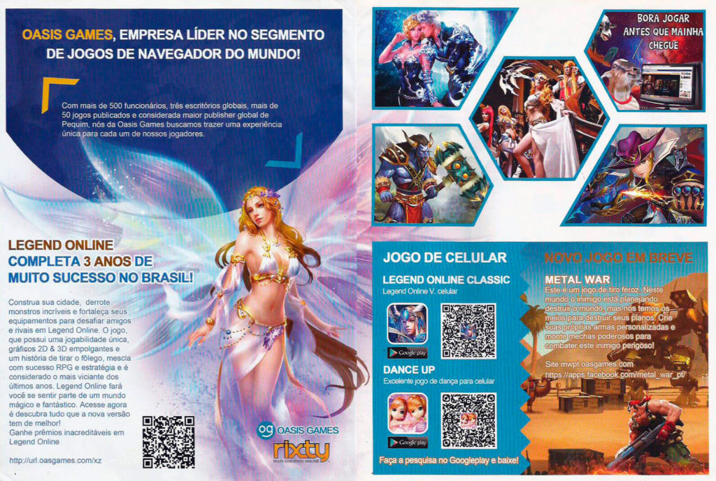 Oasis Games - Guia Oficial Brasil Game Show 2015