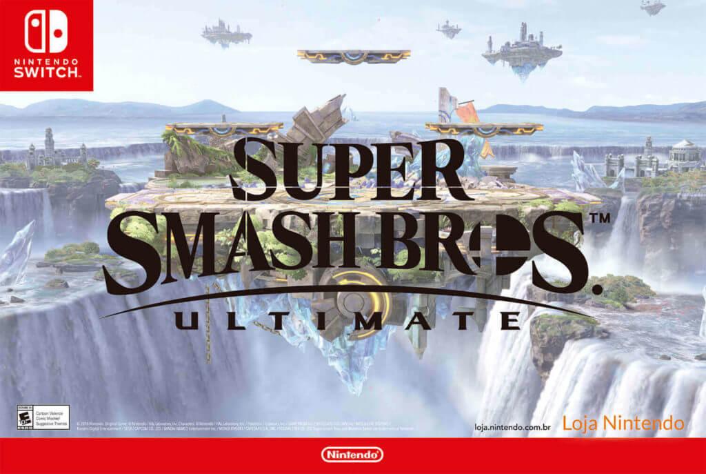 Pôster Super Smash Bros. Ultimate