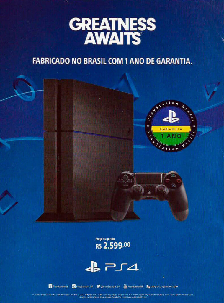 PlayStation 4 - Guia Oficial Brasil Game Show 2015