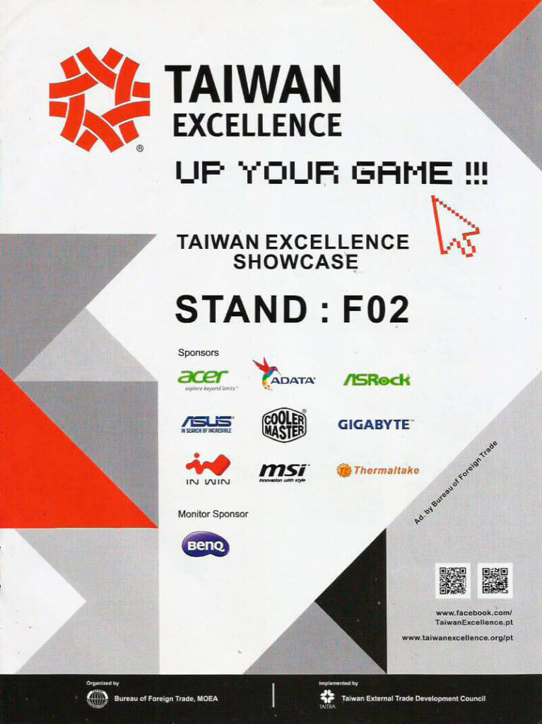 Taiwan Excellence - Guia Oficial Brasil Game Show 2015