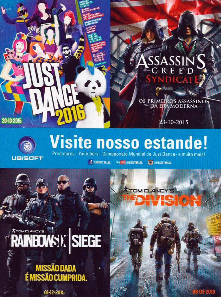 Ubisoft - Guia Oficial Brasil Game Show 2015
