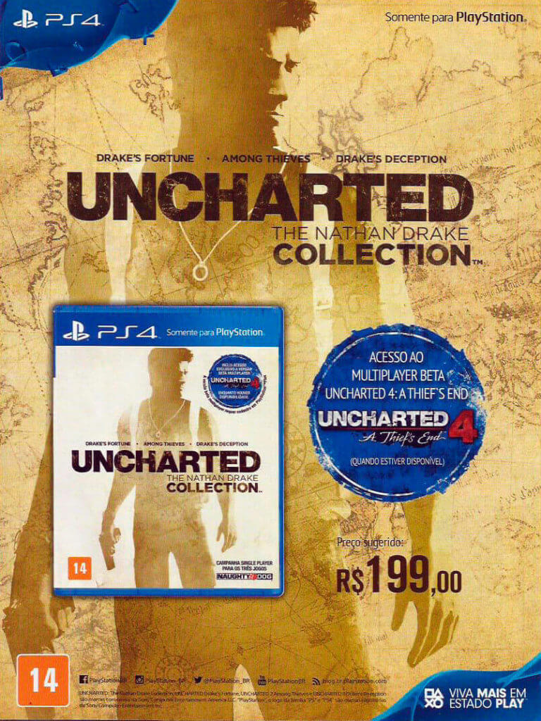 Uncharted: The Nathan Drake Collection - Guia Oficial Brasil Game Show 2015