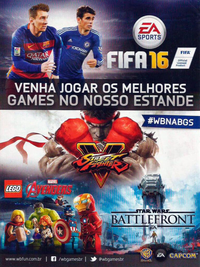 Warner Games Brasil - Guia Oficial Brasil Game Show 2015