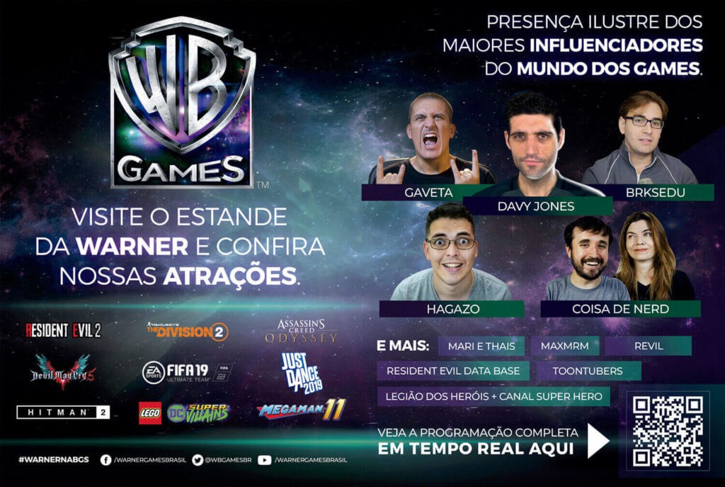 Warner Games - Guia Oficial BGS 2018