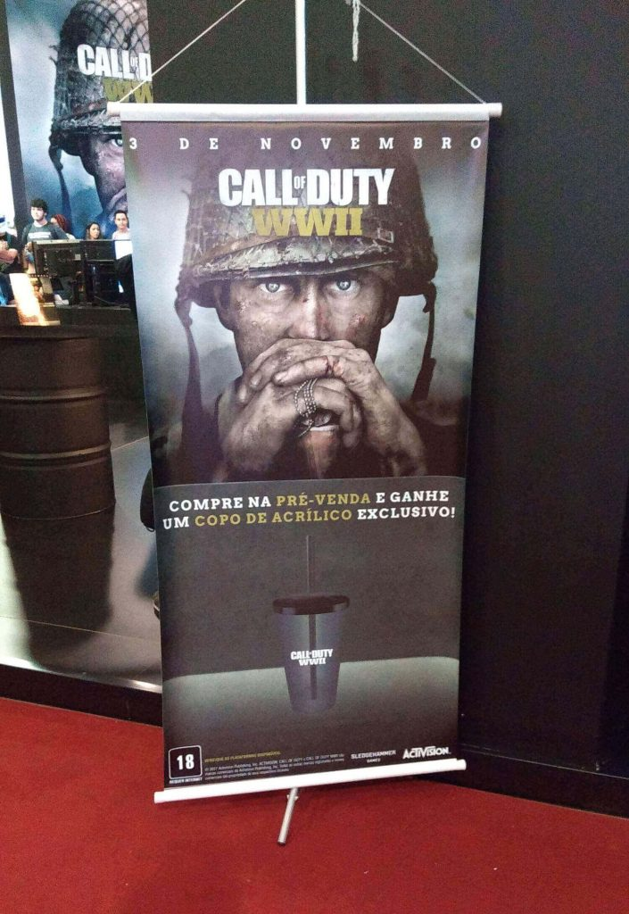 Banner Pré-Venda Call of Duty WWII