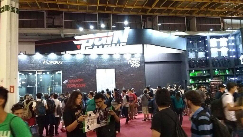 Pain Gaming na Brasil Game Show 2017