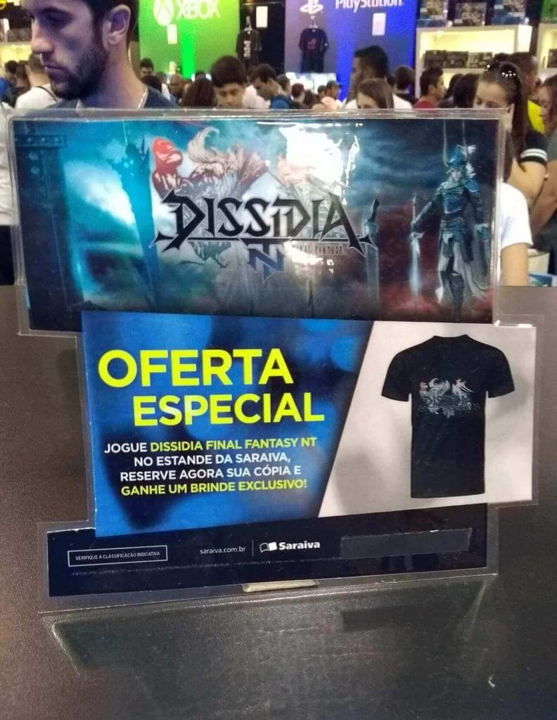 Oferta Especial Dissidia NT - Saraiva