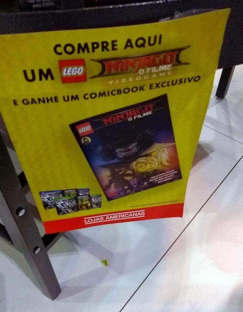 LEGO Ninjago (Americanas)